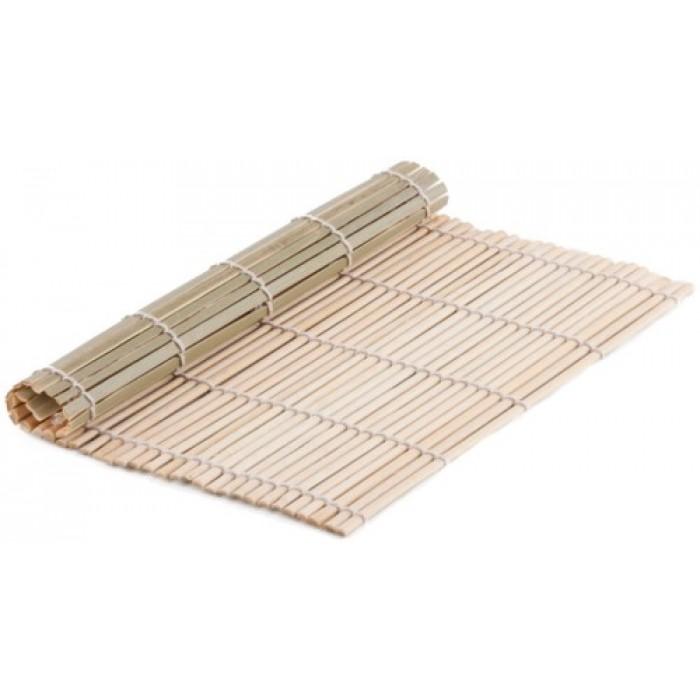 Bamboo Sushi Rolling Mat 23cm X 24cm