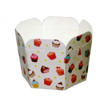 Hexagon Muffin Cup (50 pcs) - A