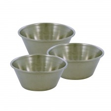 Cake Cup Stainless Steel 3 PCS Set
