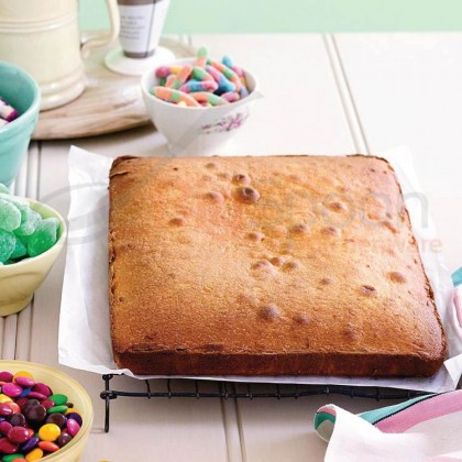 BAKECRAFT Square Cake Pan Non-Stick - 8 inch