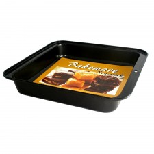 BAKECRAFT Square Cake Pan Non-Stick - 9 inch
