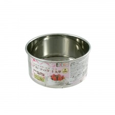 ECHO! Round Cake Pan Stainless Steel - 11.6cm
