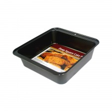 BAKECRAFT Deep Square Cake Pan Non-Stick - 9 inch