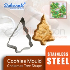BAKECRAFT Cookies Mould Cookies Cutter Stainless Steel Christmas Tree Shape Biscuit Mould Fondant Cutter Cake Decorating Tools