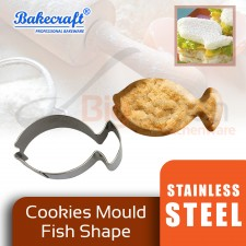 BAKECRAFT Cookies Mould Cookies Cutter Stainless Steel Fish Shape Biscuit Mould Fondant Cutter Cake Decorating Tools