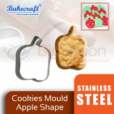 BAKECRAFT Cookies Mould Cookies Cutter Stainless Steel Apple Shape Biscuit Mould Fondant Cutter Cake Decorating Tools