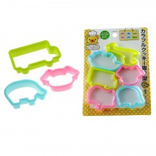 ECHO! Cookies Cutter(7317) 6 PCS Set