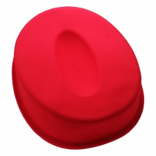 BAKECRAFT Silicone Cake Mould Number 0 - Red