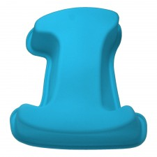 BAKECRAFT Silicone Cake Mould Number 1 - Blue