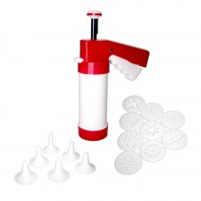 Cookie Press & Icing Set (9 discs + 6 nozzles)