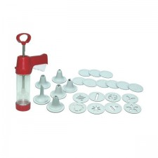 Cookie Press & Icing Set (18 discs + 6 nozzles)