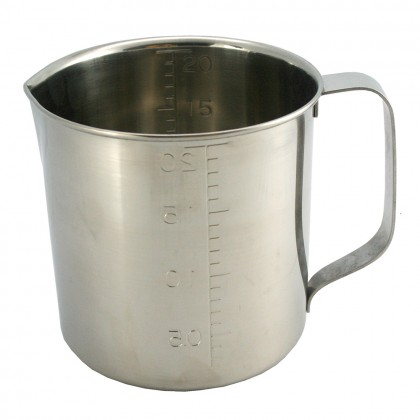 SUGICO Professional Measuring Cup 18-8 Stainless Steel 2.0L - 100% Original Japan