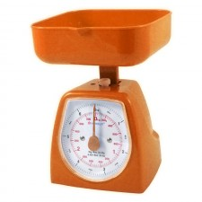 HOMSUIT Kitchen Scale Square 3kg - Orange