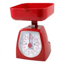 HOMSUIT Kitchen Scale Square 3kg - Red