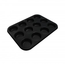 BAKECRAFT Muffin Pan 12 Cup Non-Stick