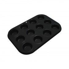 BAKECRAFT Mini Muffin Pan 12 Cup Non-Stick