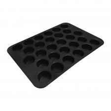 BAKECRAFT Mini Muffin Pan 28-Cup Non-Stick