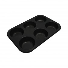 BAKECRAFT Muffin Pan 6 Cup Non-Stick [BK-M21]