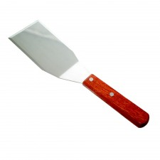 BAKECRAFT Pizza Turner Stainless Steel Wooden Handle