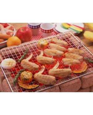 BBQ Barbecue Grill Wire Mesh 30cm x 45cm Outdoor Picnic Camping