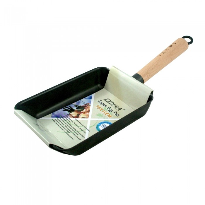 Frying Pan Non Stick Rectangle 20cm X 15cm