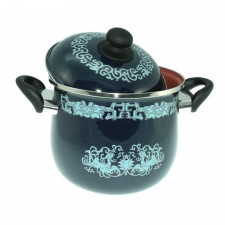 Enamel Earthen Pot with Yixing Clay - 22cm