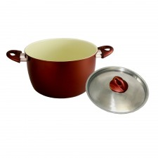 Casserole Ceramic Coated Non-Stick 24cm