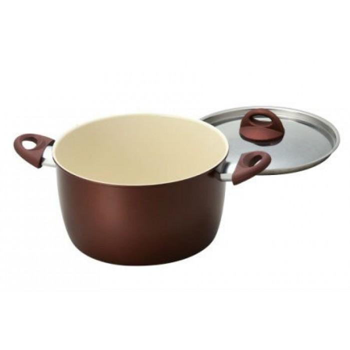 Casserole Ceramic Coated Non Stick 24cm