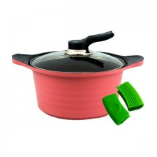 BAUER Stew Pot High Purity Ceramic Coating 24cm
