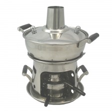 Chimney Mini Hot Pot 16cm Stainless Steel