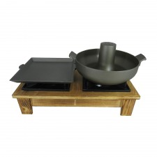 2-In-1 Japanese Hot Plate and Pot Set