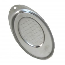 Mini Ginger Grater S/Steel - Oval