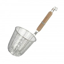 Noodle Strainer S/Steel with Wooden Handle - Large