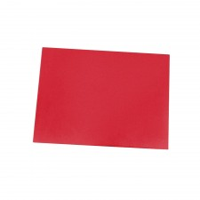 Colourful Polypropylene Chopping Board 40cm x 60cm - Red