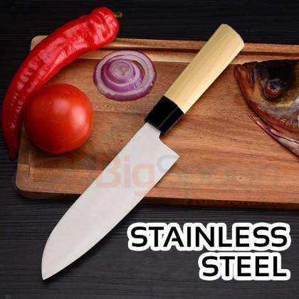 Santoku Kitchen Knife 6.5 inch Santoku Knife Japanese Knife Stainless Steel - 100% Japan Original