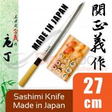 Yanagi Sashimi Knife 27cm Japanese Knife Stainless Steel High Quality for Sashimi Fish - 100% Japan Original