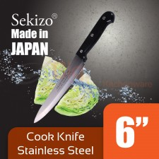 SEKIZO Cook Knife Stainless Steel 6 inch Made in JAPAN