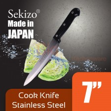 SEKIZO Cook Knife Stainless Steel 7 inch Made in JAPAN