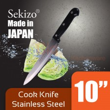 SEKIZO Cook Knife Stainless Steel 10 inch Made in JAPAN