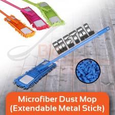 BIGSPOON Extendable Microfiber Mop Dust Mop Super Absorbent Cleaning Mop Telescopic Floor Mop Flat Mop Lantai Dust Cleaner