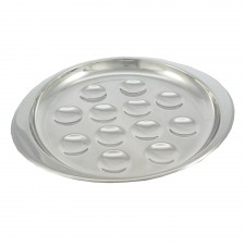 Escargot Stainless Steel Plate (12 holes)