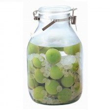 CELLARMATE Air Tight Glass Jar with Lock & Handle - 2.0L