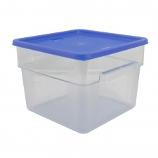 PC Square Food Container With Cover - 12 Litre