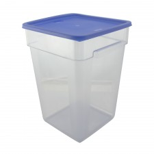 PC Square Food Container With Cover - 22 Litre