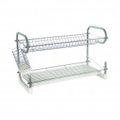 Dish Rack with Cutlery Holder 304 Stainless Steel - 22 inch