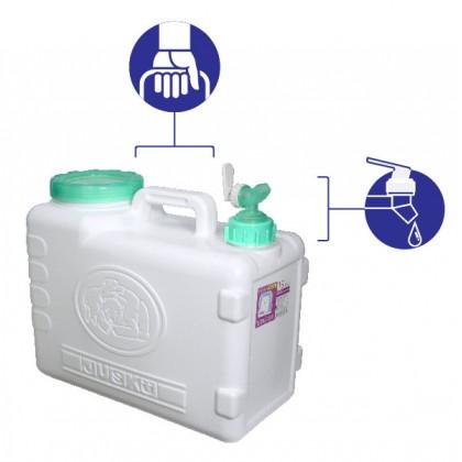 15L Lifestyle Water Storage Tank - Green