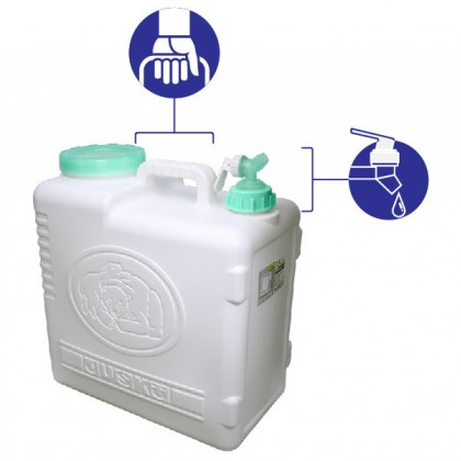 25L Lifestyle Water Storage Tank - Blue