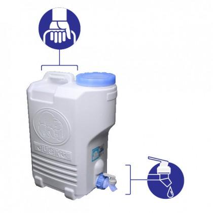 20L Lifestyle Water Storage Tank - Blue
