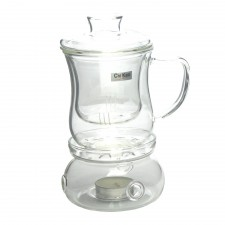 CHIKAO Glass Teapot Warmer (CK-103AB)