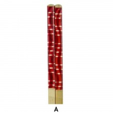 10 Pairs Printed Bamboo Chopsticks - Design A